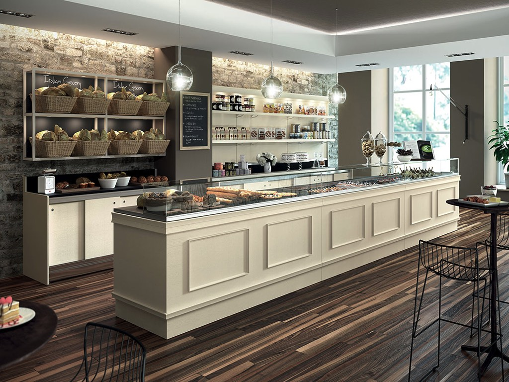 Arredamento alimentari bakery shop neon europa cagliari for Negozi arredamento cagliari