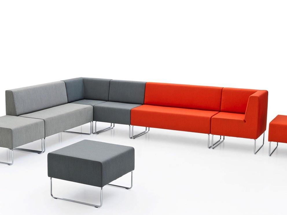 Galleria sedute modulari neon europa for Arredamento bar tavoli e sedie