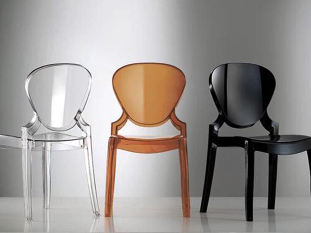 Sedia Panton Trasparente : Sedie in plexiglass trasparente fabulous tavolo da cucina con