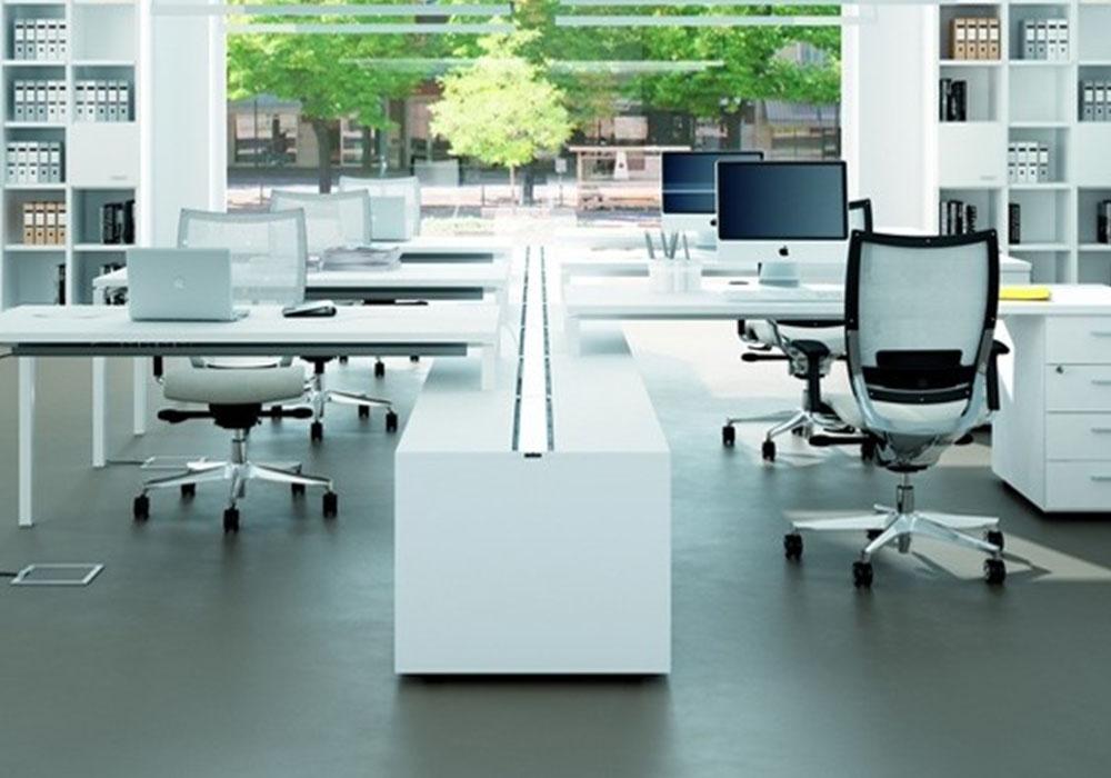 Mobili ufficio design moderno trendy oggetti di design - Arredo ufficio bianco ...