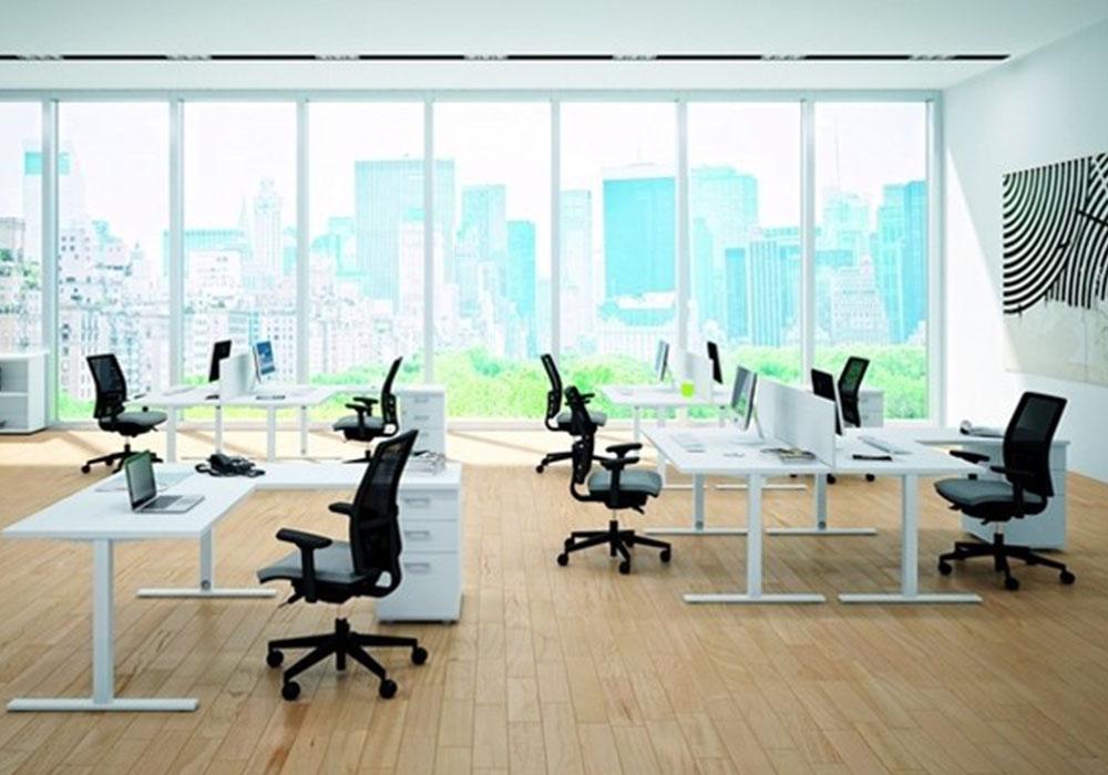 Scrivania Ufficio Angolo : Neon europa 0054 arredo ufficio neon europa scrivania ad angolo